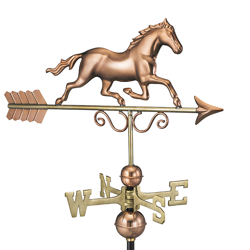 1974P_Galloping Horse_Polished_Silo 1