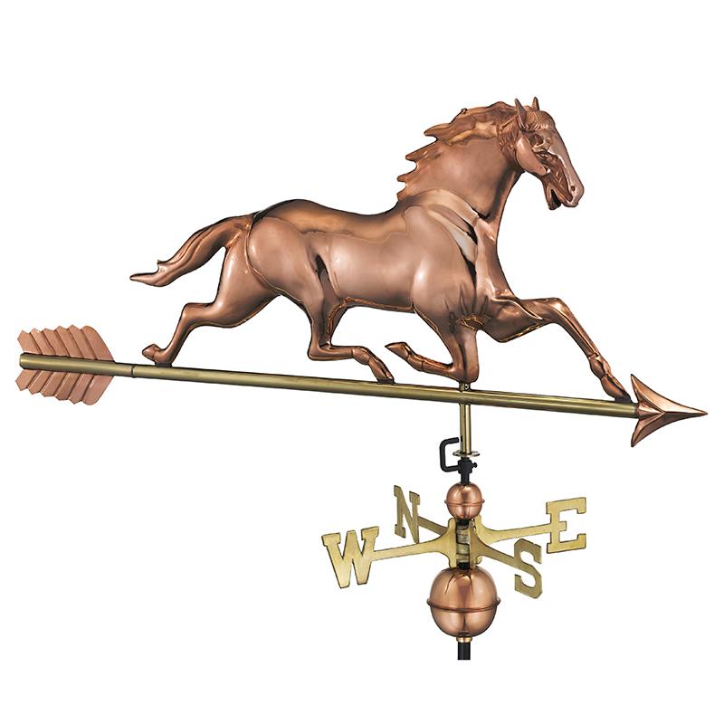 580PA_Horse with Arrow_Polished_Silo 1
