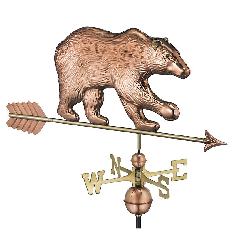 695PA_Bear with Arrow_Polished_Silo 1