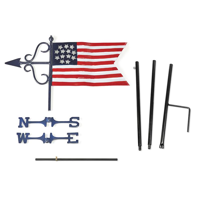 836G_Americana Flag_Components 2
