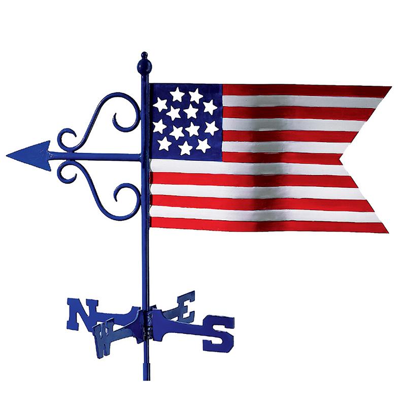836G_Garden Americana Flag_Silo 1