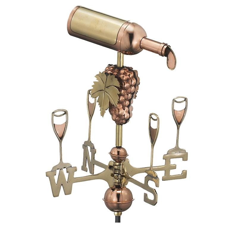 8843PG_Garden Wine Bottle_Polished_Silo 1