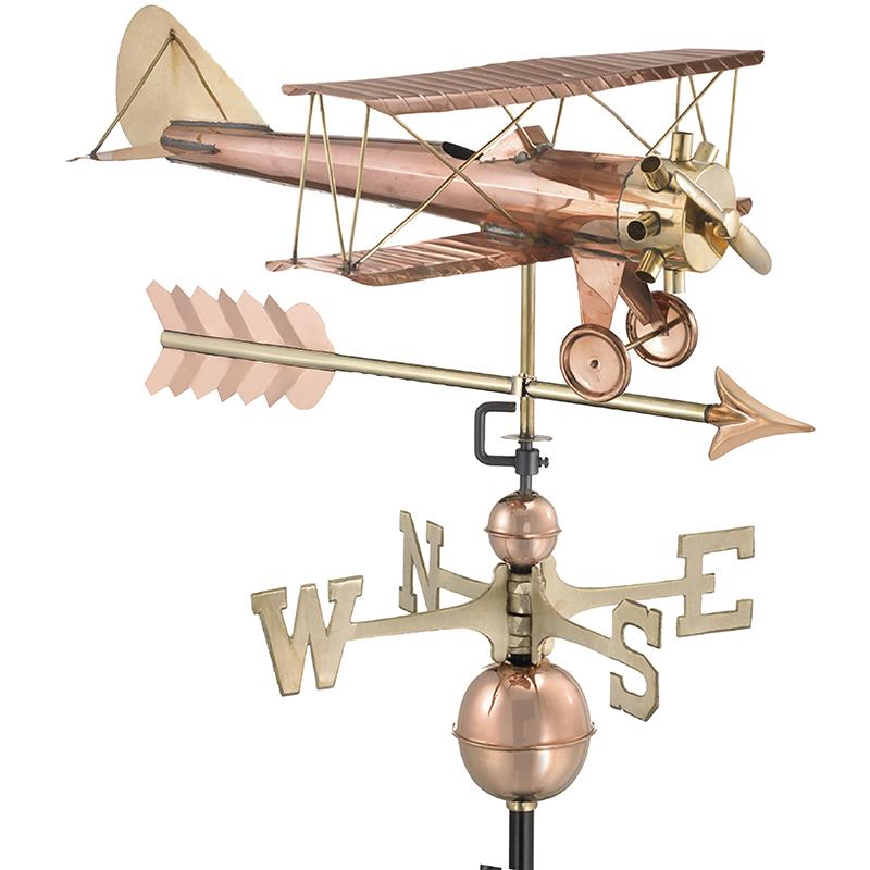 9521PA_Bi Plane with Arrow_Polished_Silo 1