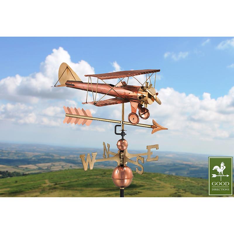 9521PA_Bi Plane with Arrow_Polished_Theme 3