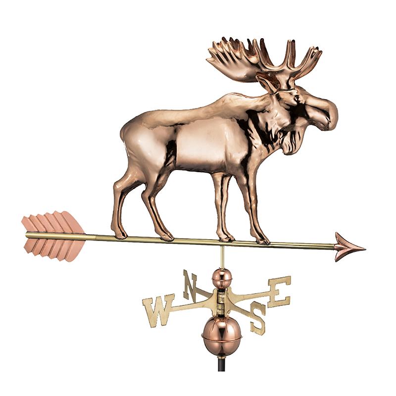 9557PA_Moose with Arrow_Polished_Silo 1